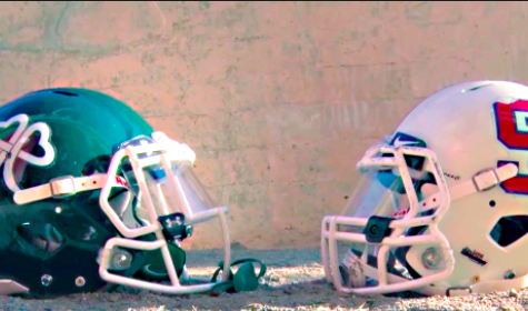 Fighting for This Year's Bruce-Mahoney: Football
