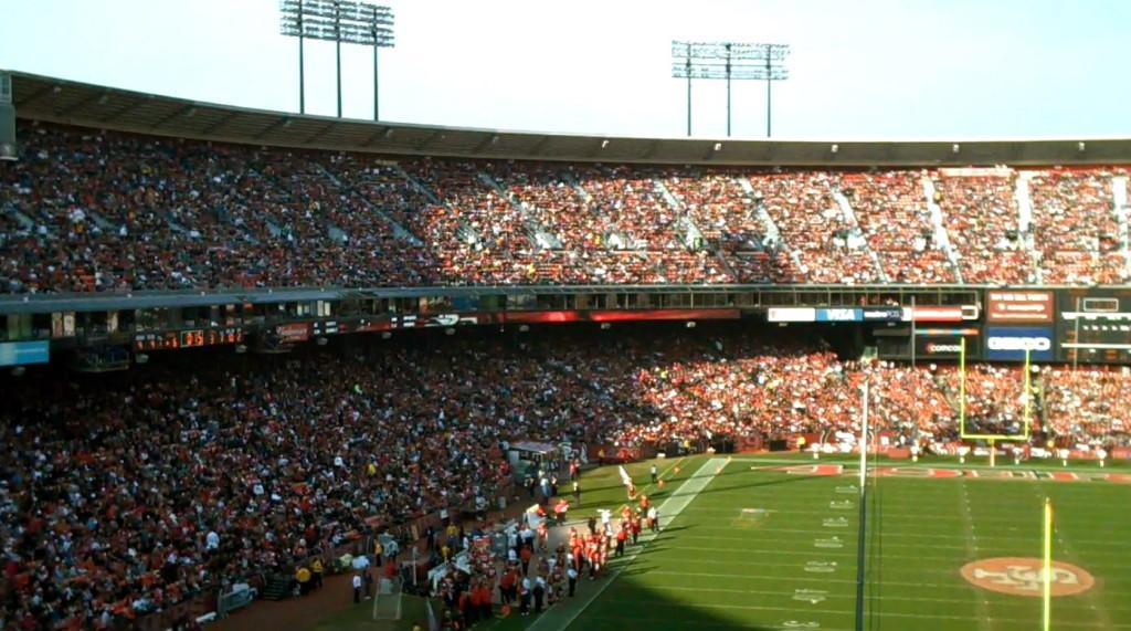 Fans+have+cheered+on+the+49ers+at+Candlestick+Park+since+1971