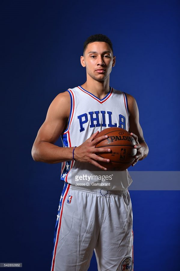 First draft pick Ben Simmons