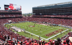A packed Levi's Stadium before the COVID-19 pandemic.