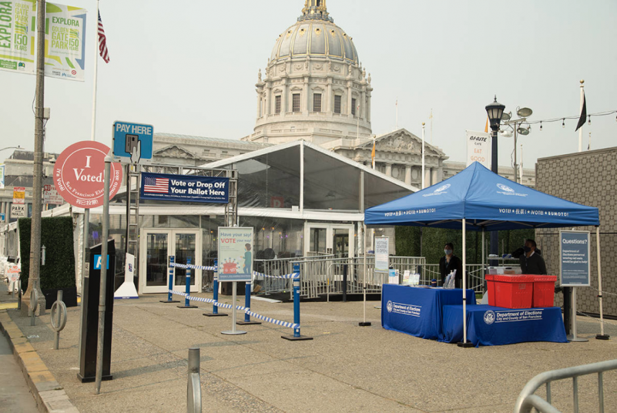 In anticipation of the 2020 General Election, San Francisco unveiled a new early voting center at City Hall.